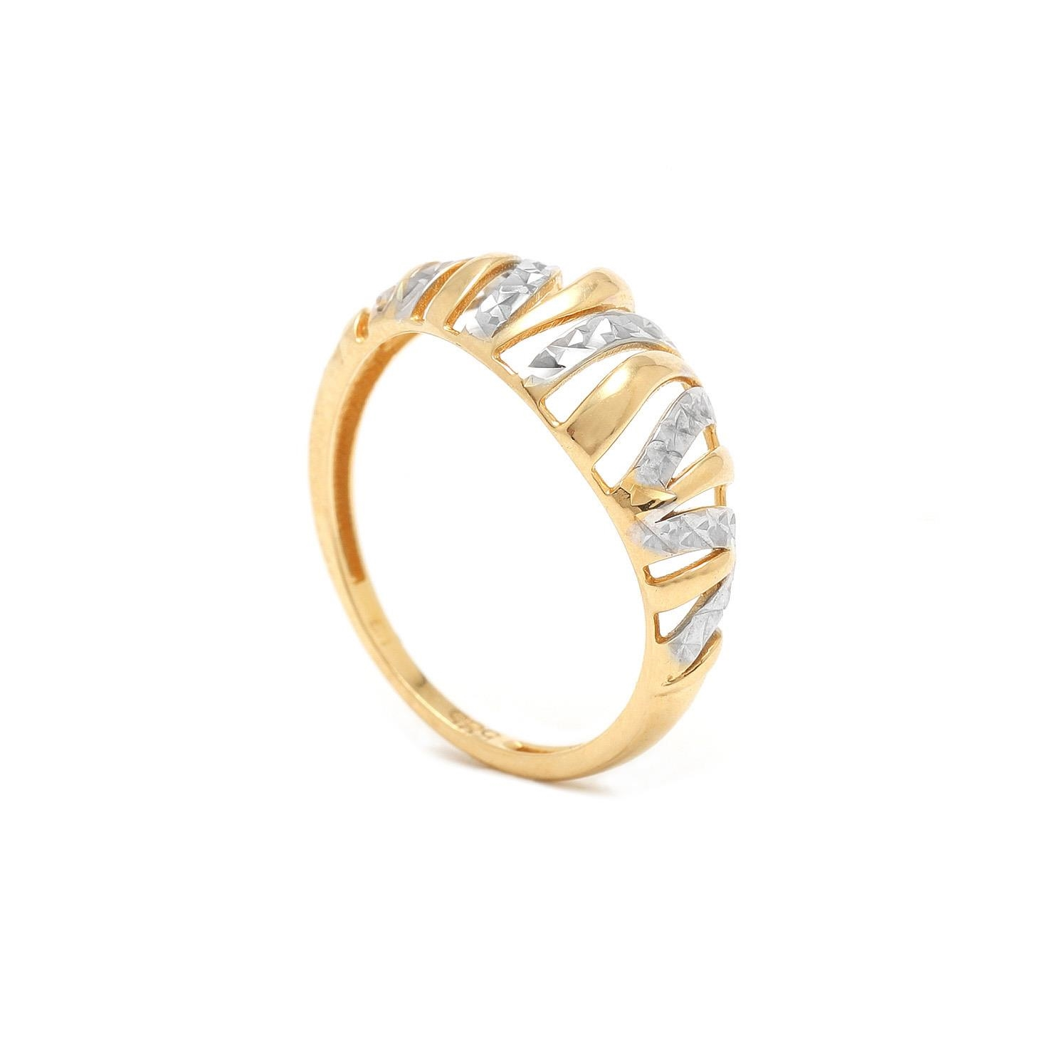 Zlatý prsteň KALENA 7PK00381