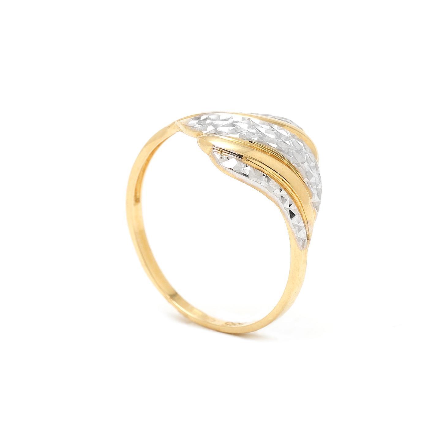 Zlatý prsteň KIANA 7PK00382