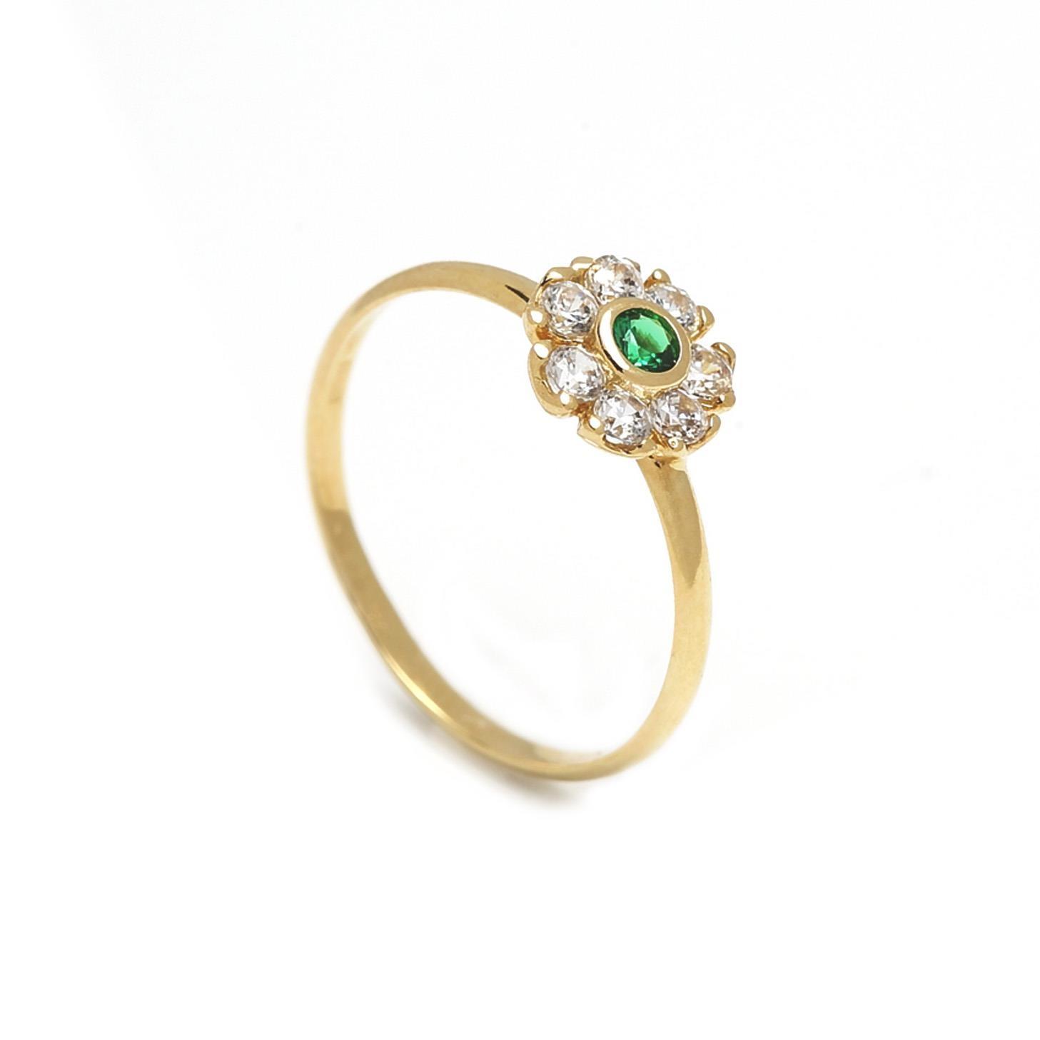 Zlatý prsteň KVET 1PZ00019