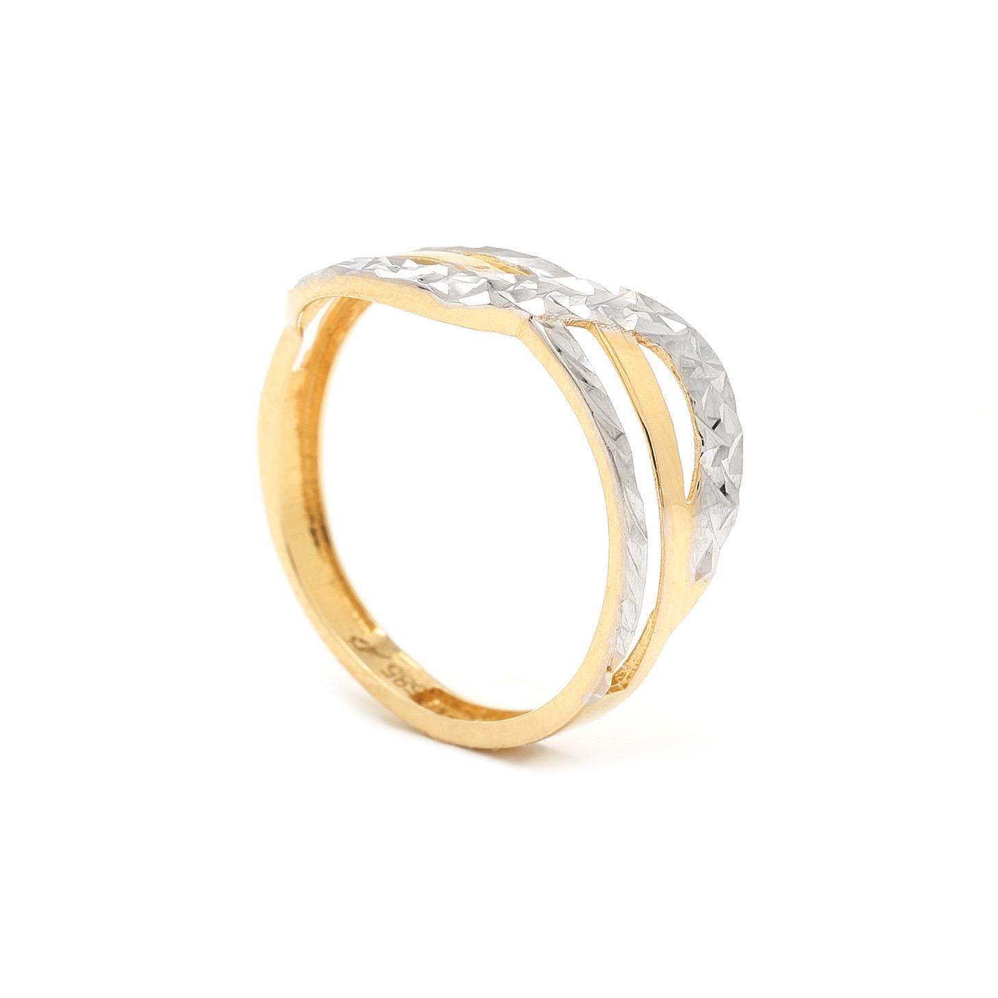 Zlatý prsteň LUANA 7PK00384