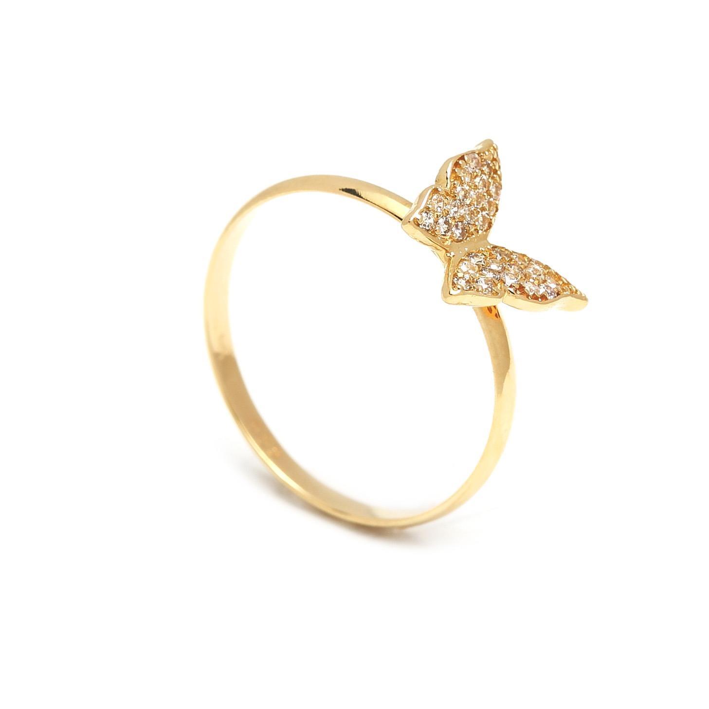Zlatý prsteň MOTÝĽ 1PZ00004