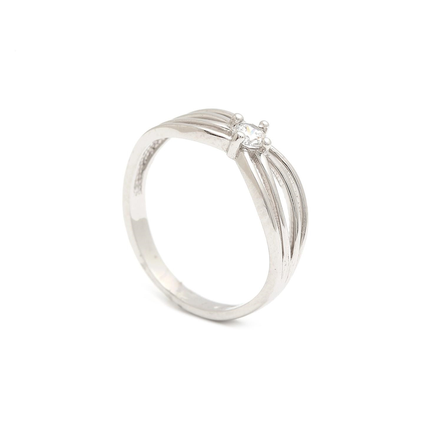 Zlatý prsteň PERLITA 3PB00140