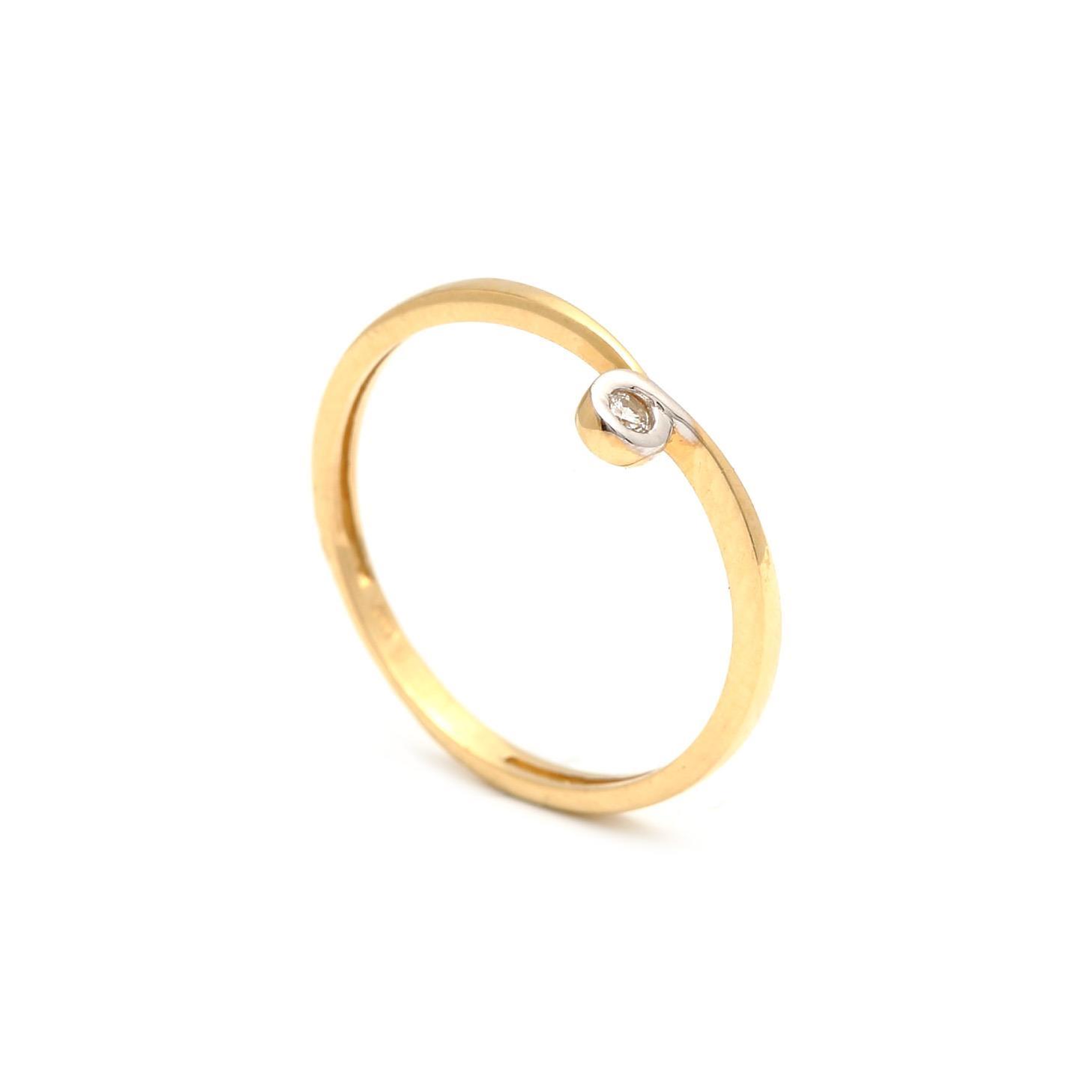 Zlatý prsteň PHYLLIS 1PK00187