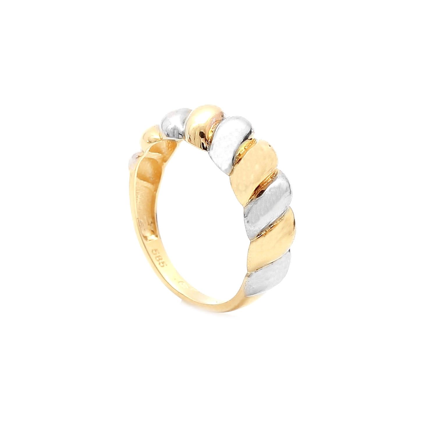 Zlatý prsteň ZEVI e30b7b434ab