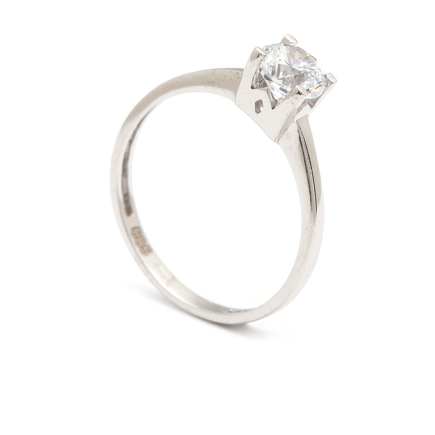 Zlatý zásnubný prsteň CARMENCITA 4PB00261