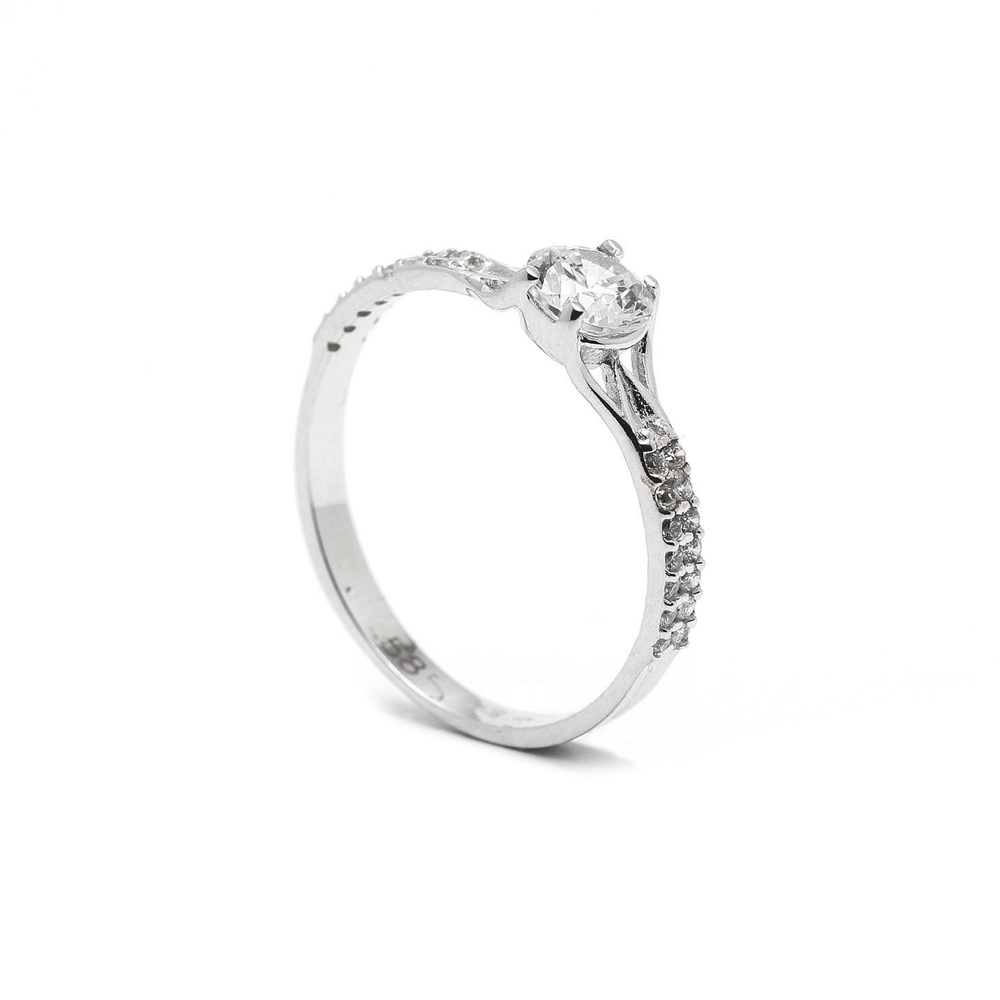 Zlatý zásnubný prsteň CHIUTA 7PB00408