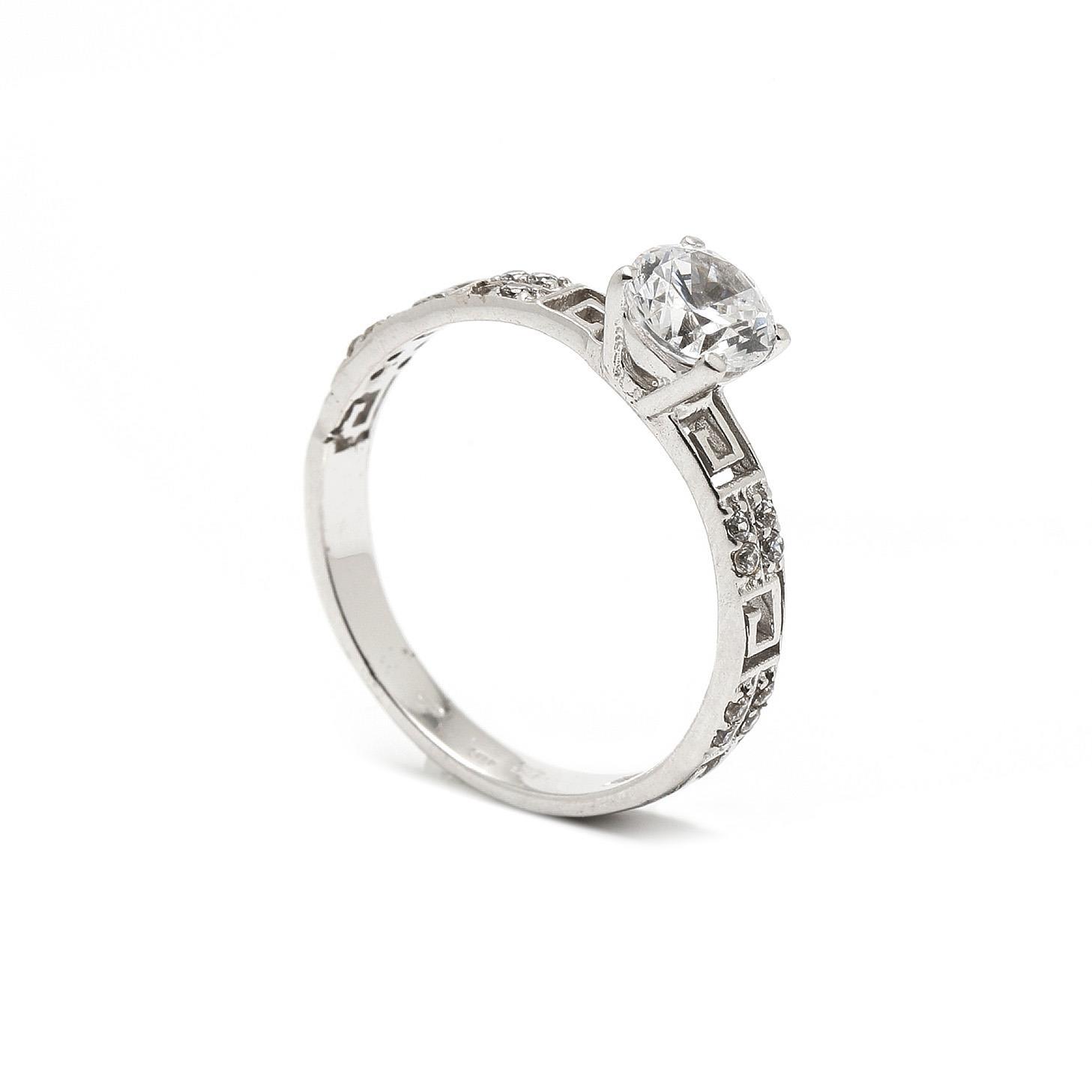 Zlatý zásnubný prsteň ERNA 7PB00354