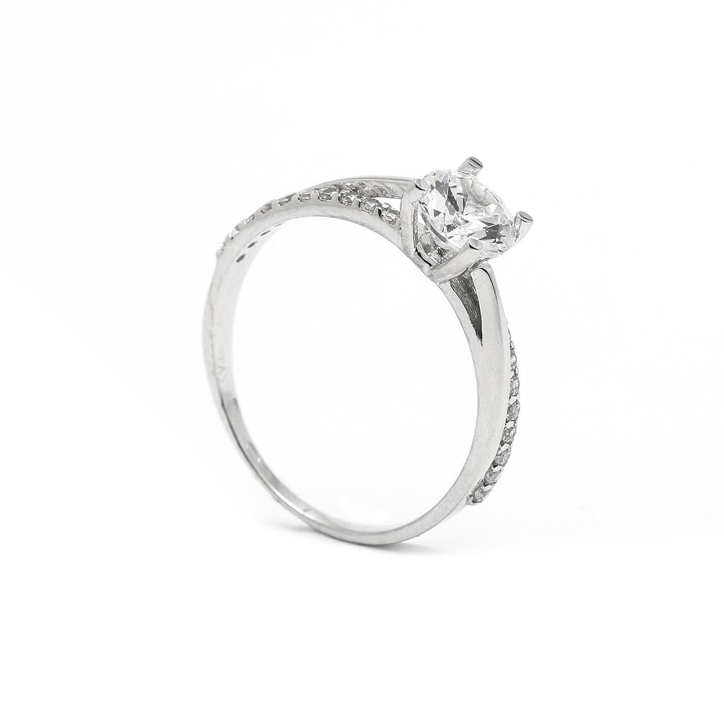 Zlatý zásnubný prsteň LUCINE 7PB00411