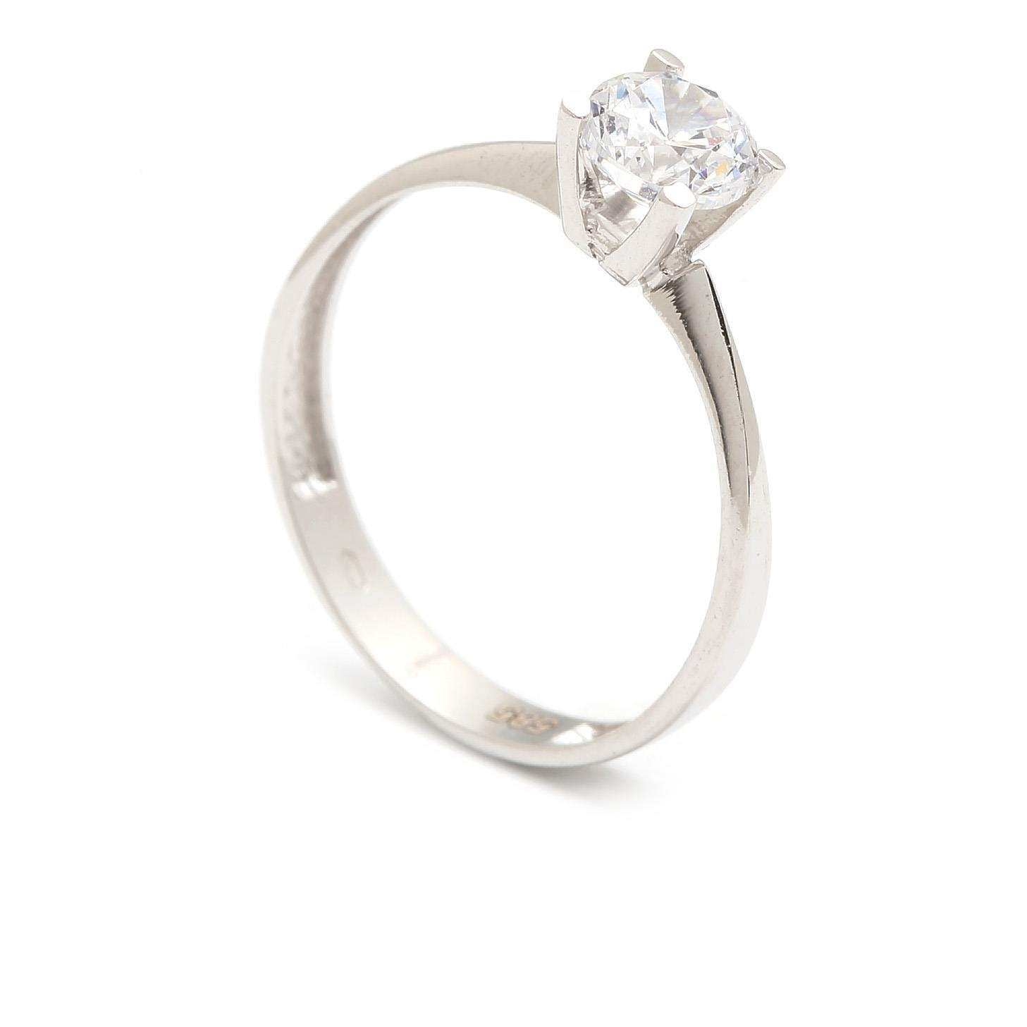 Zlatý zásnubný prsteň LURDES 4PB00288