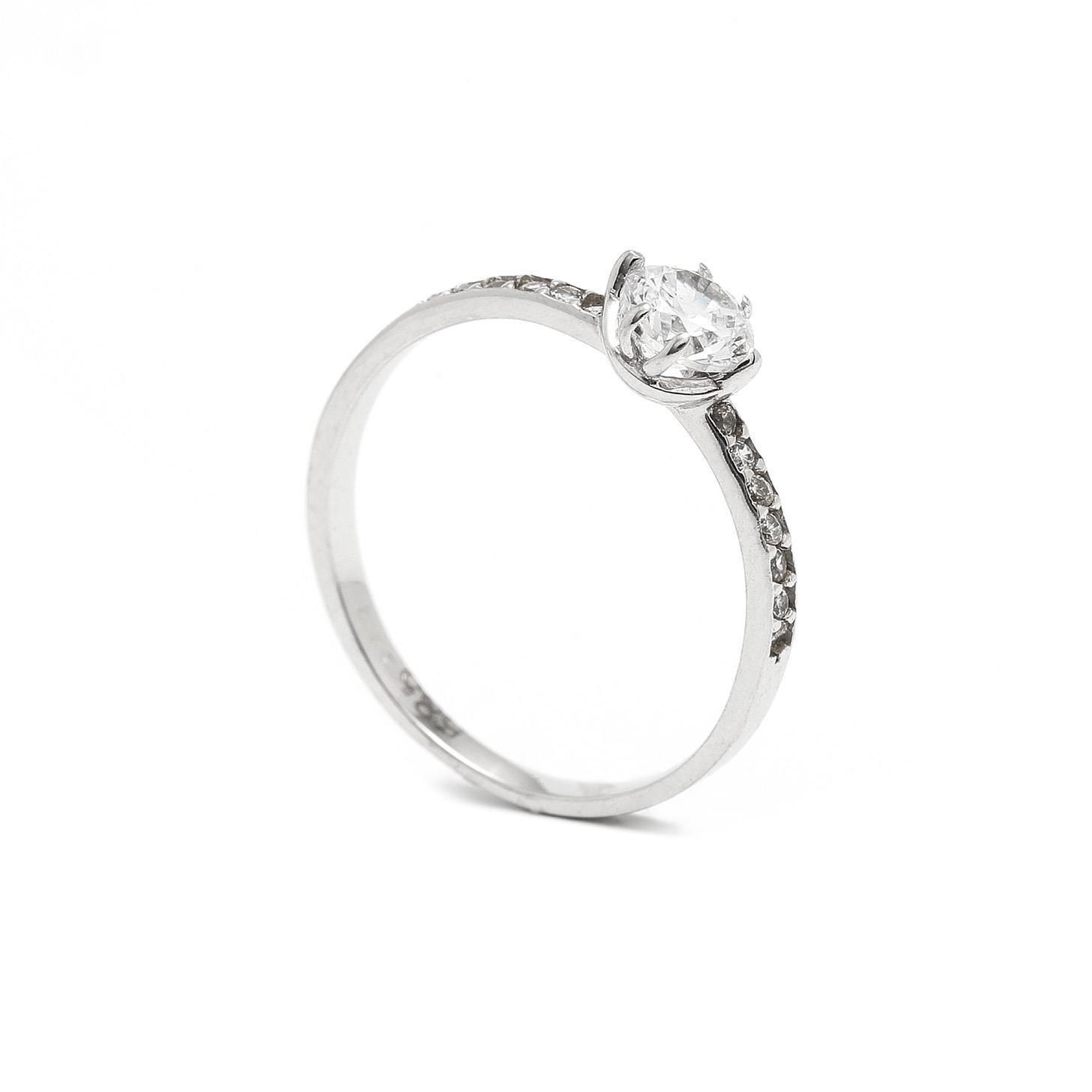 Zlatý zásnubný prsteň MARGARID 7PB00410