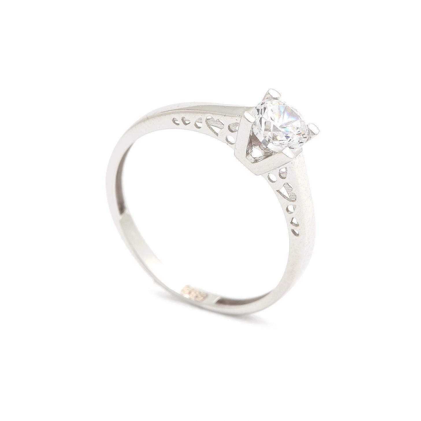Zlatý zásnubný prsteň MARZENA 4PB00249