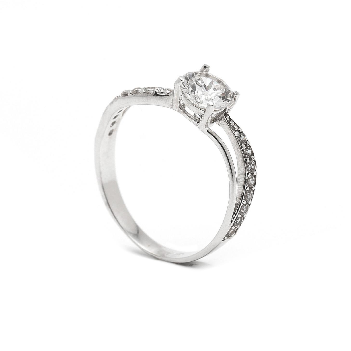 Zlatý zásnubný prsteň MEHELIA 7PB00404