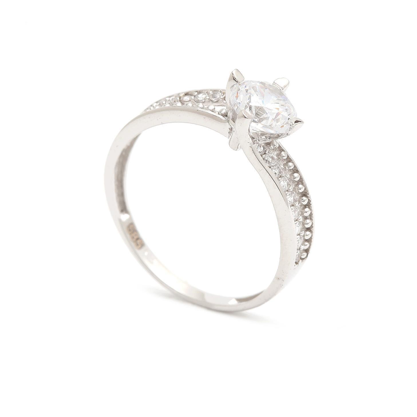 Zlatý zásnubný prsteň NOVA 4PB00230