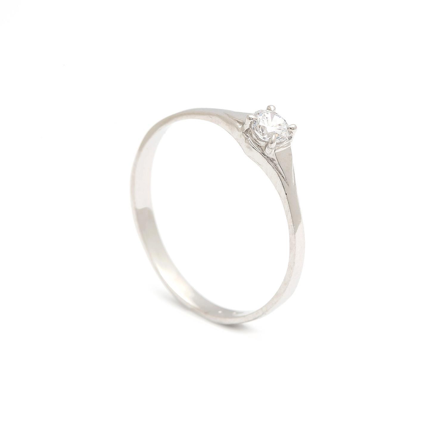 Zlatý zásnubný prsteň PAOLINA 3PB00136