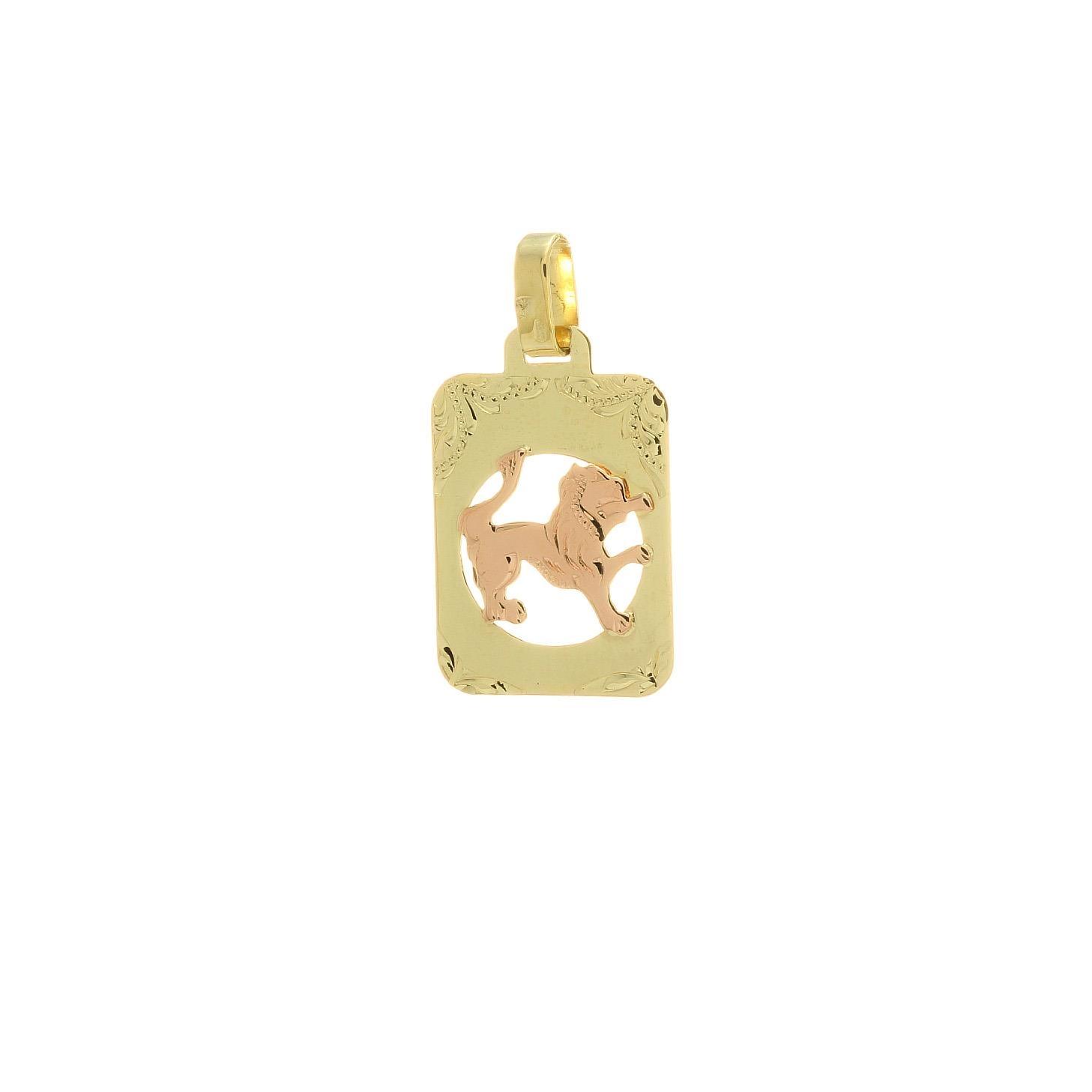 Znamenie lev z kombinovaného zlata 2VK00267