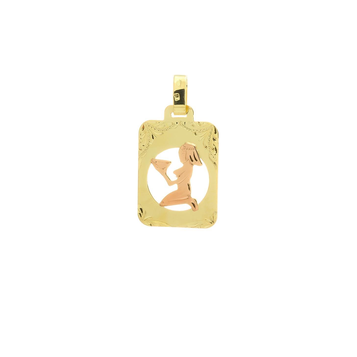 Znamenie panna z kombinovaného zlata 2VK00270