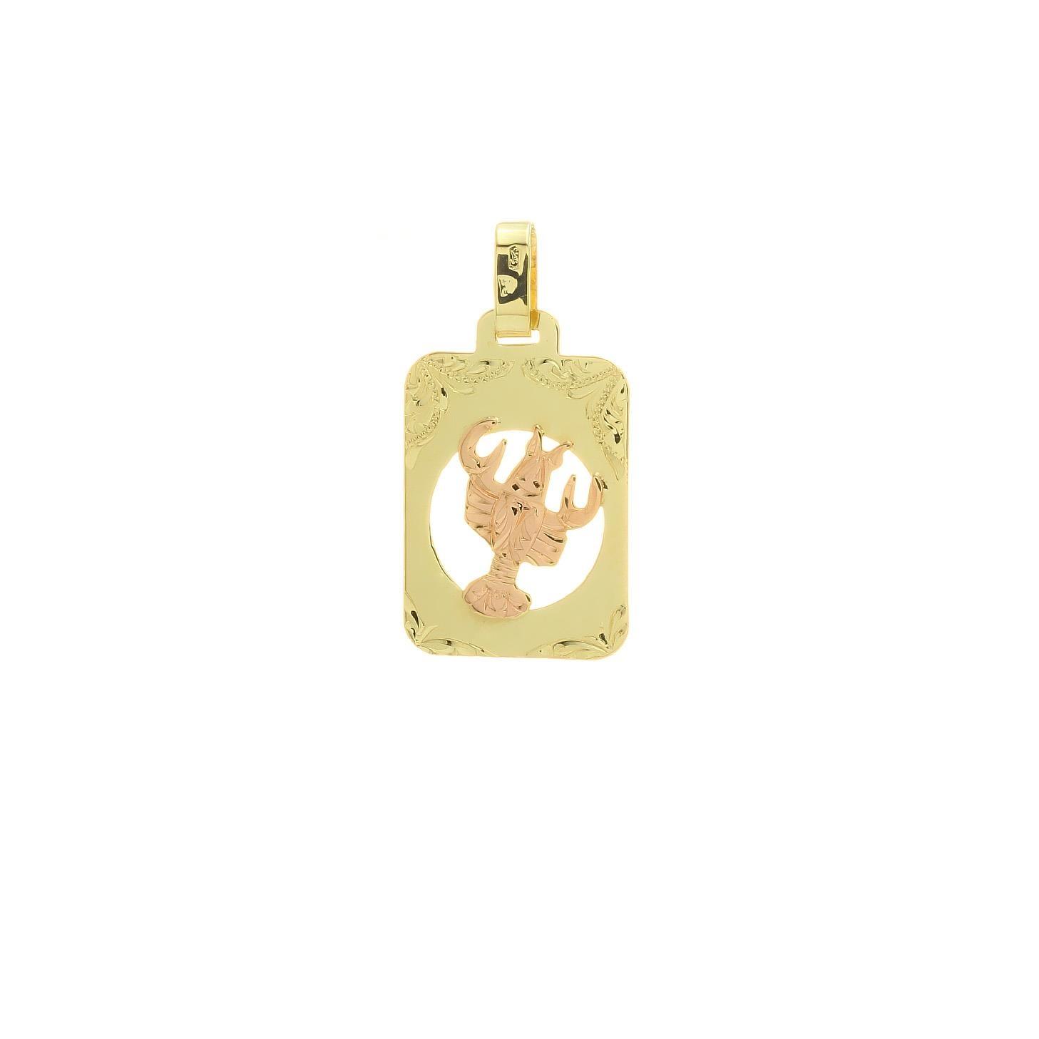 Znamenie rak z kombinovaného zlata 2VK00266