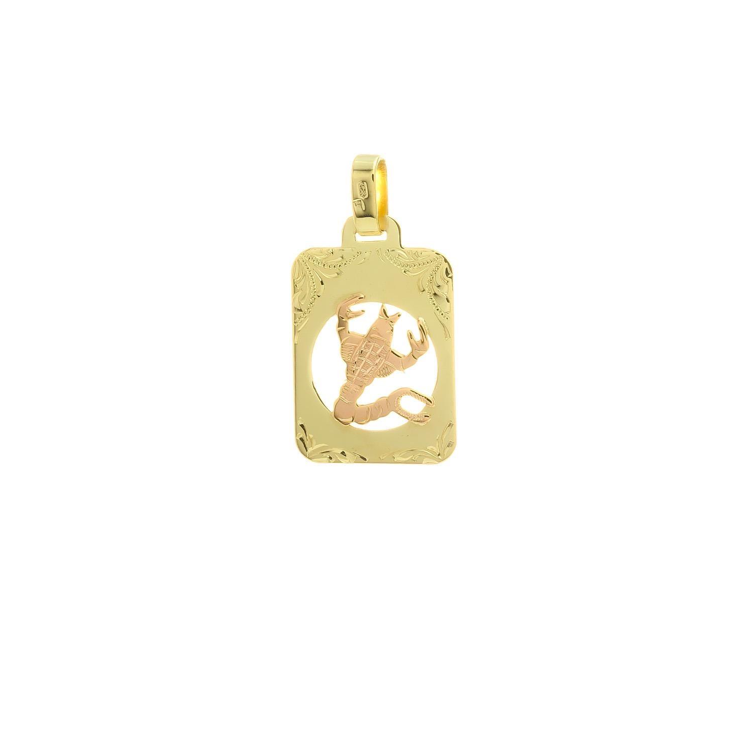 Znamenie škorpión z kombinovaného zlata 2VK00268