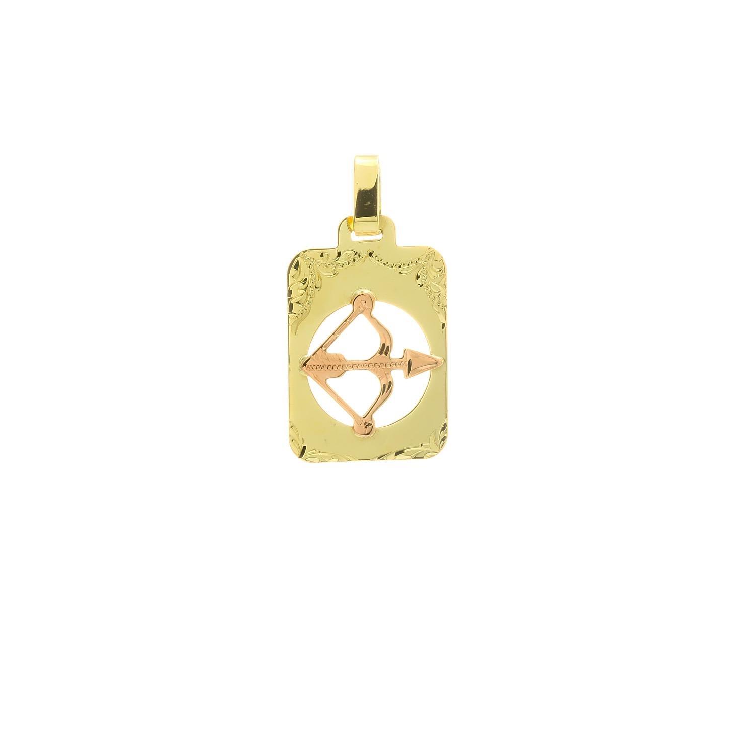 Znamenie strelec z kombinovaného zlata 2VK00264