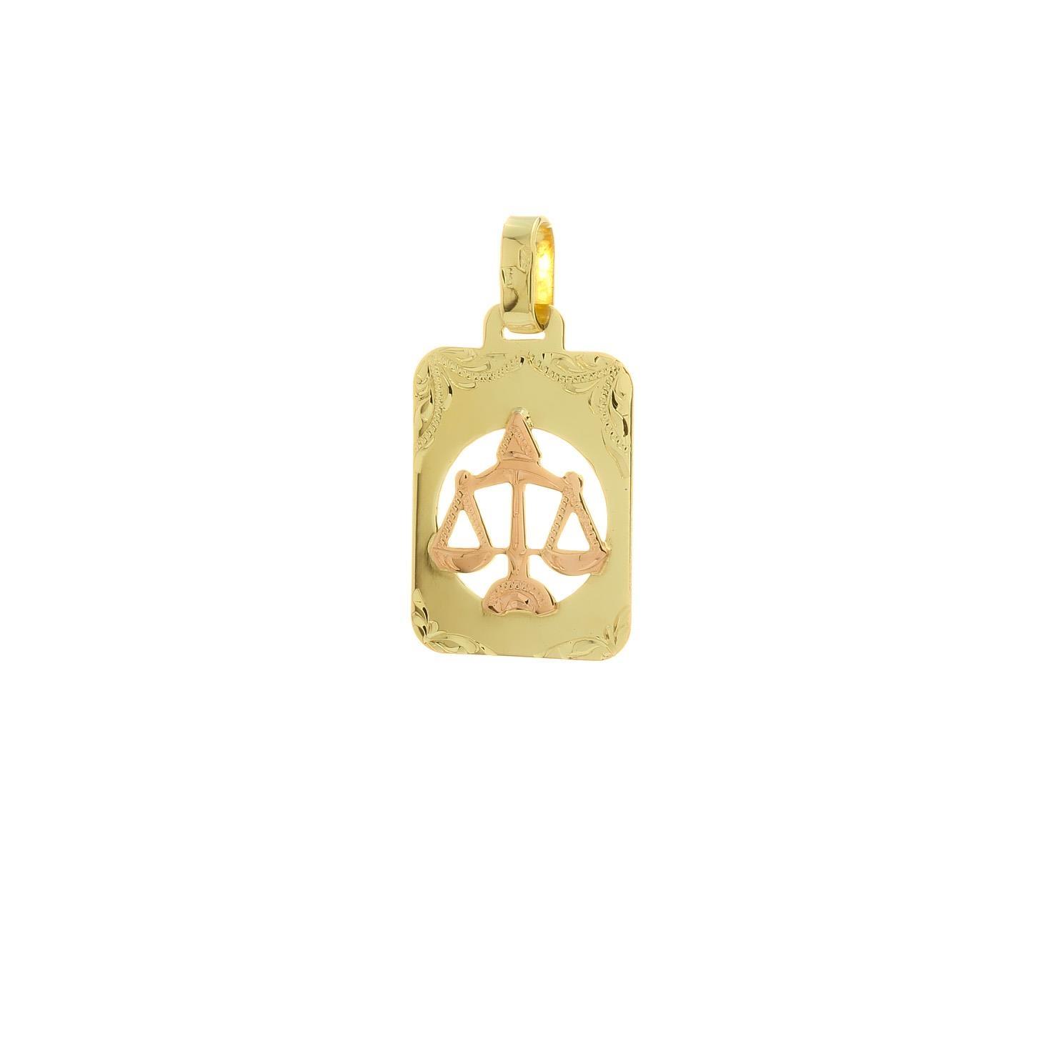 Znamenie váhy z kombinovaného zlata 2VK00263