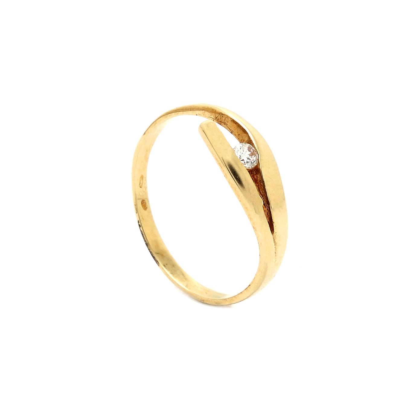 Zlatý prsteň COLETTE