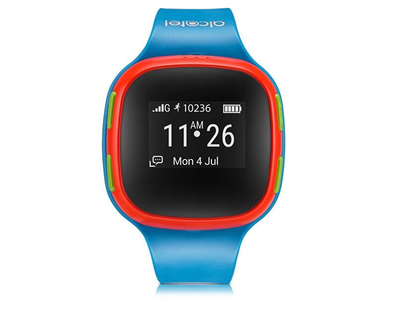 Alcatel GPS lokátor MOVE TIME Track&Talk Watch, Blue/Red