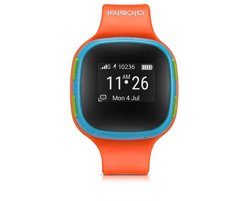 Alcatel MOVE TIME Track&Talk Watch, Orange/Blue