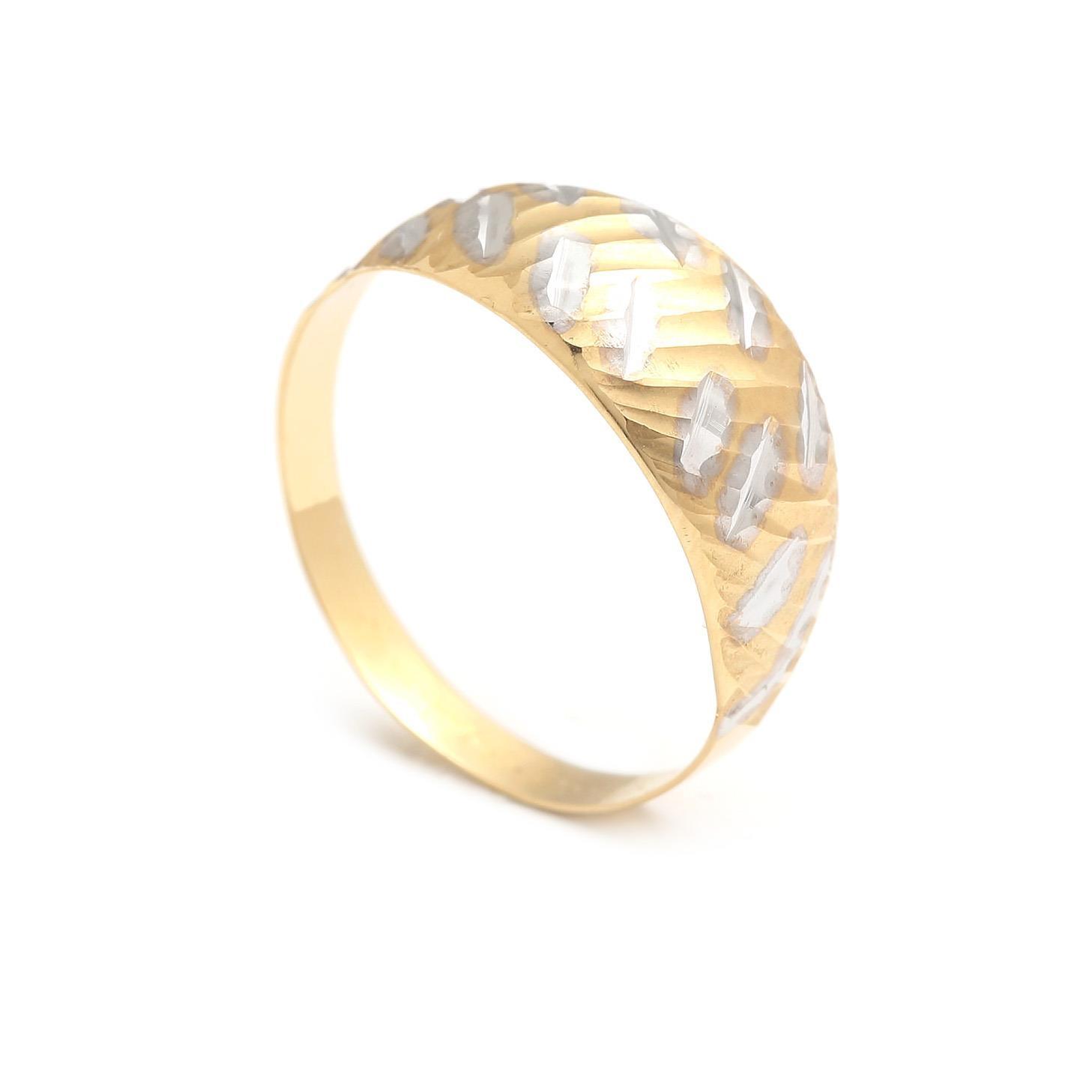 Zlatý dámský prsten KACHINA