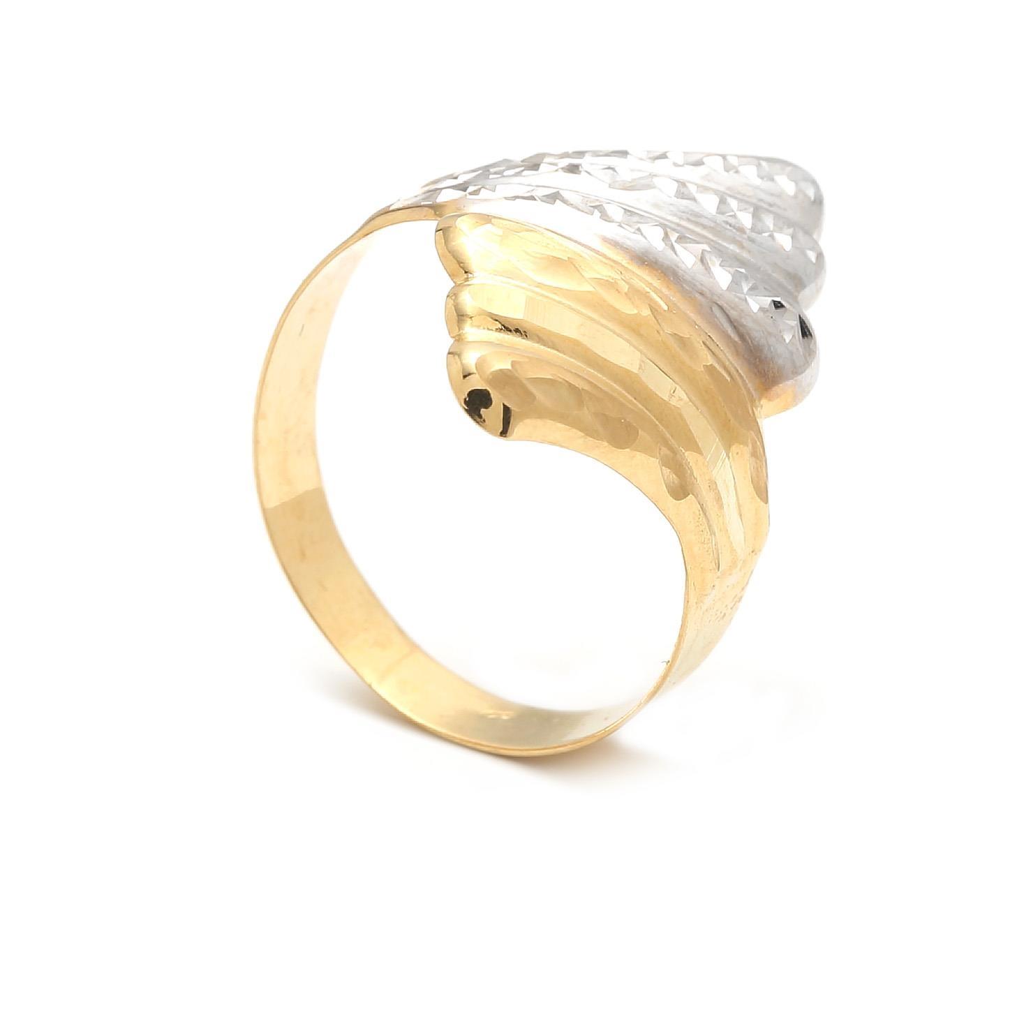 Zlatý dámský prsten LENMANA
