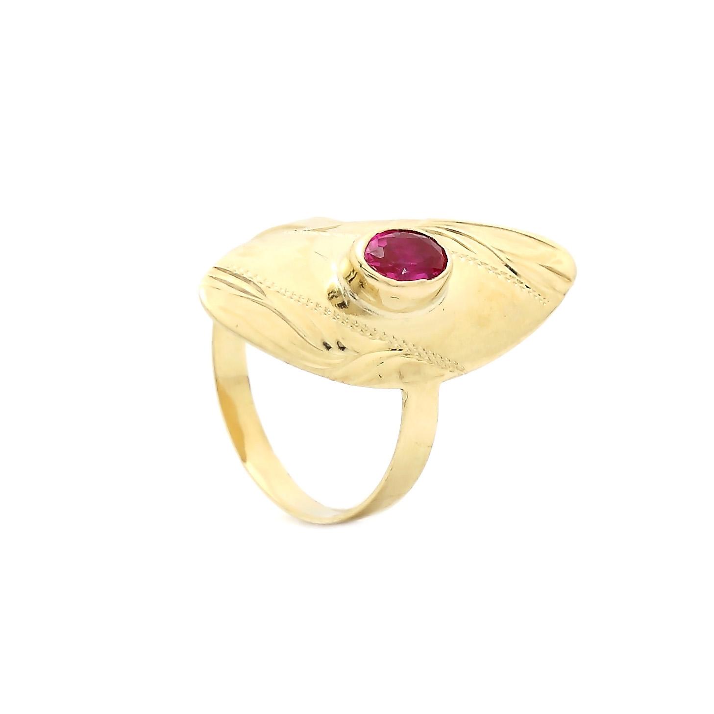 Zlatý dievčenský prsteň AGAPA