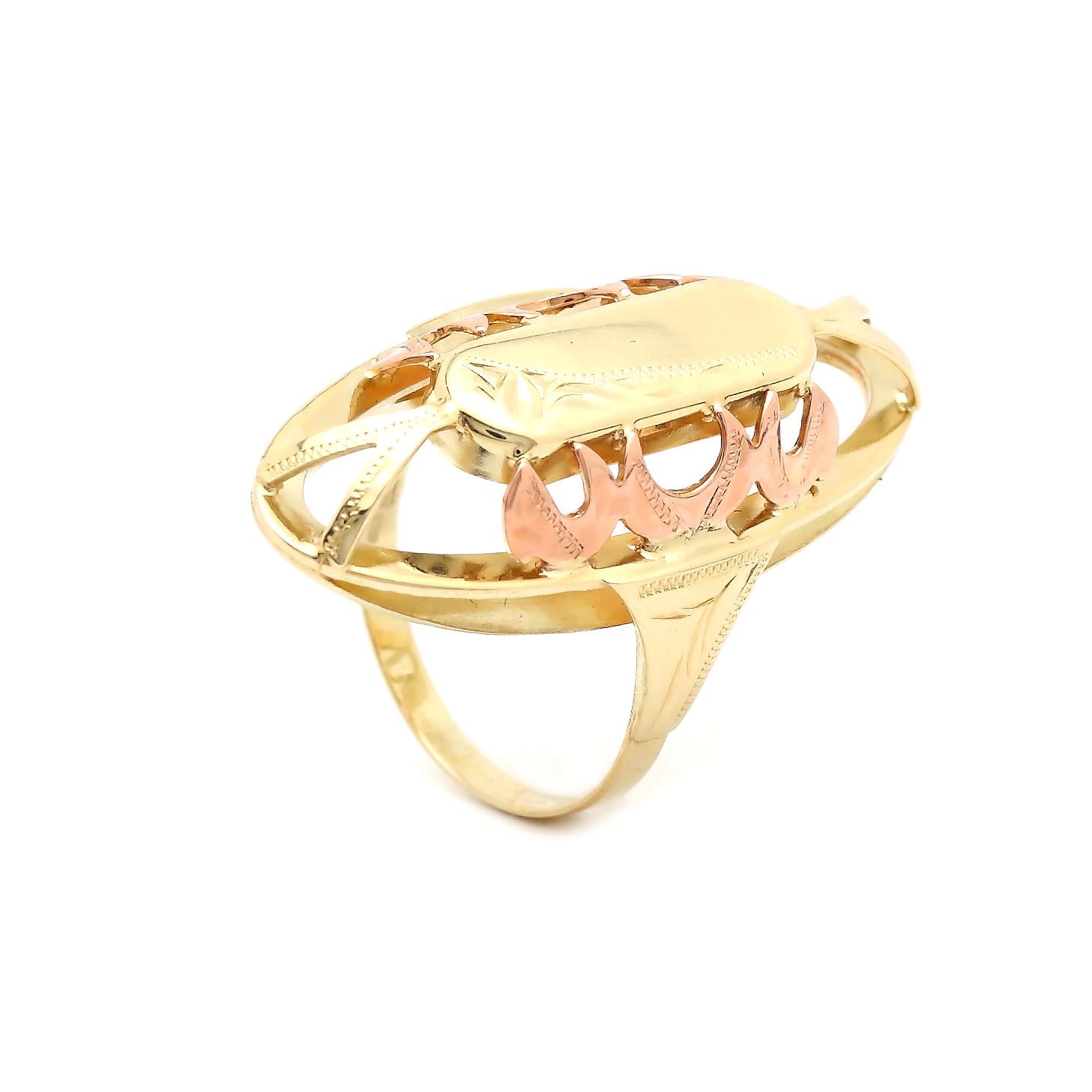 Zlatý dámsky prsteň BENILDA