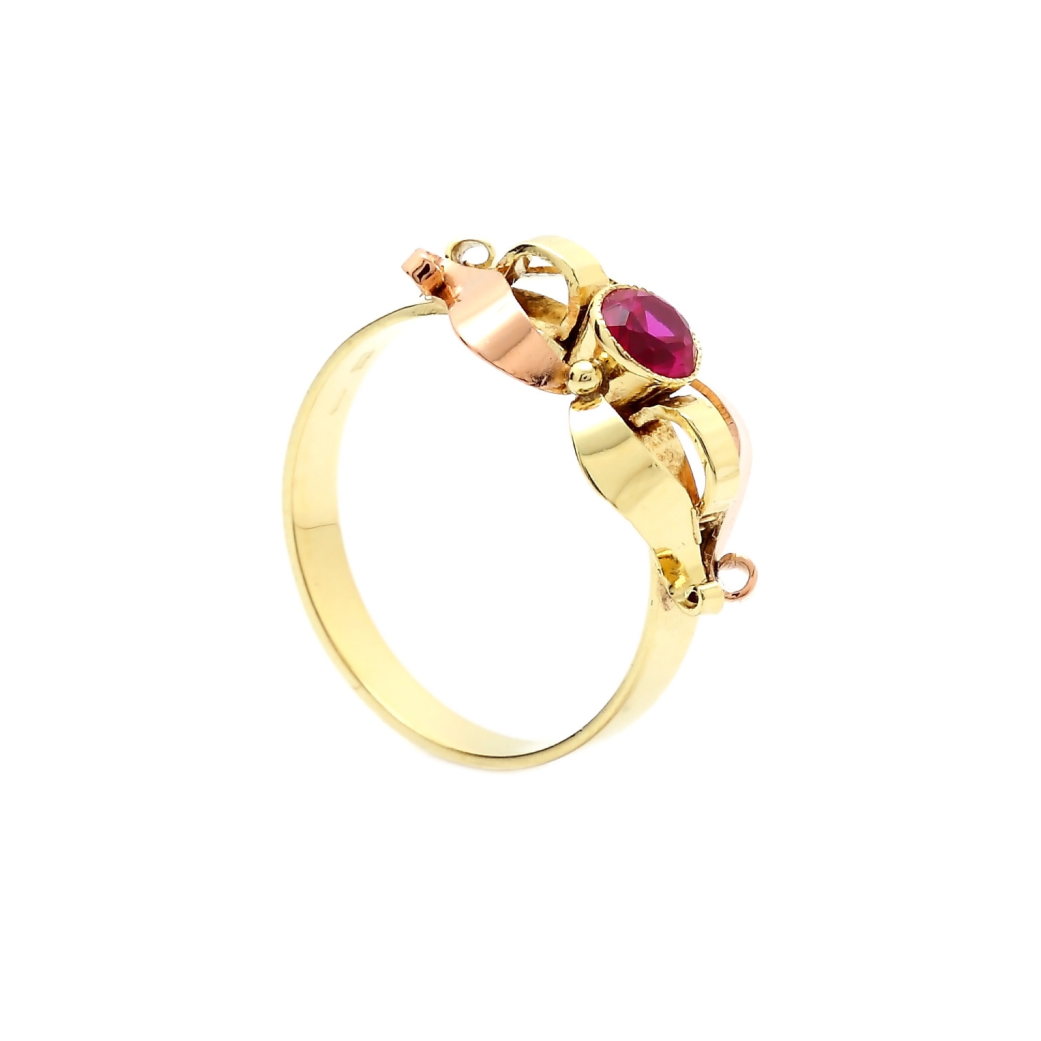 Zlatý dámsky prsteň BREANA