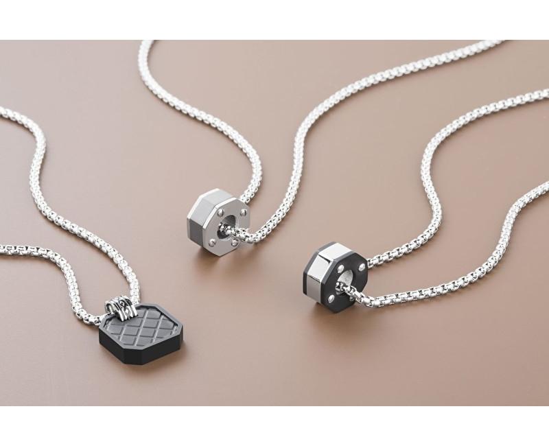 d6ecf393c Pánský ocelový náhrdelník Steam BSE05 Pánský ocelový náhrdelník Steam BSE05  1