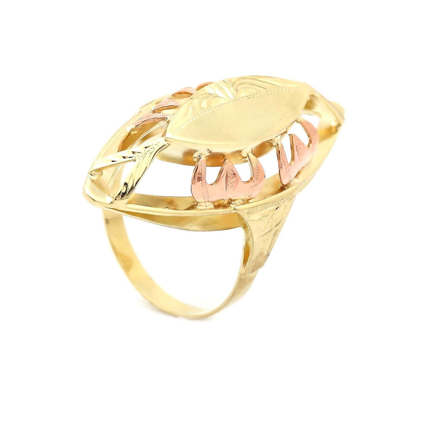 Zlatý dámsky prsteň AASE
