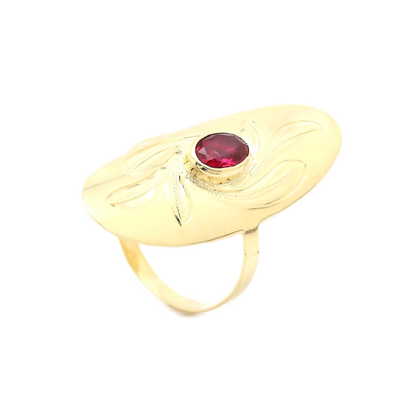 Zlatý dámsky prsteň DALIDA