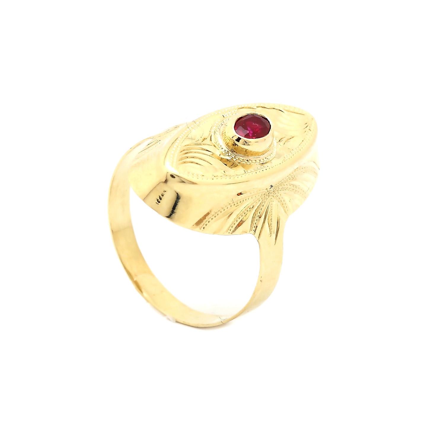 Zlatý dámsky prsteň DEANA