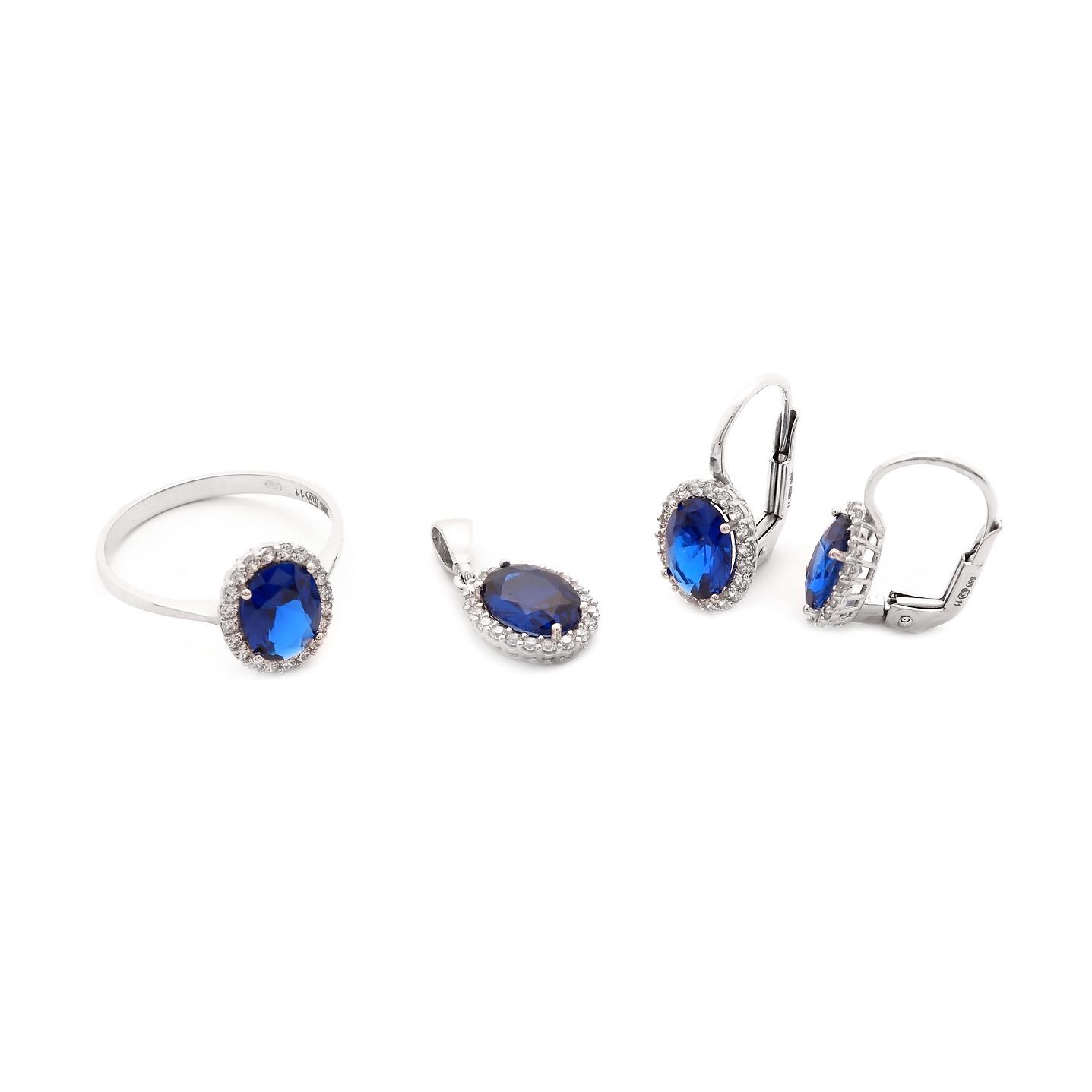 Set TALIAH s modrým kameňom