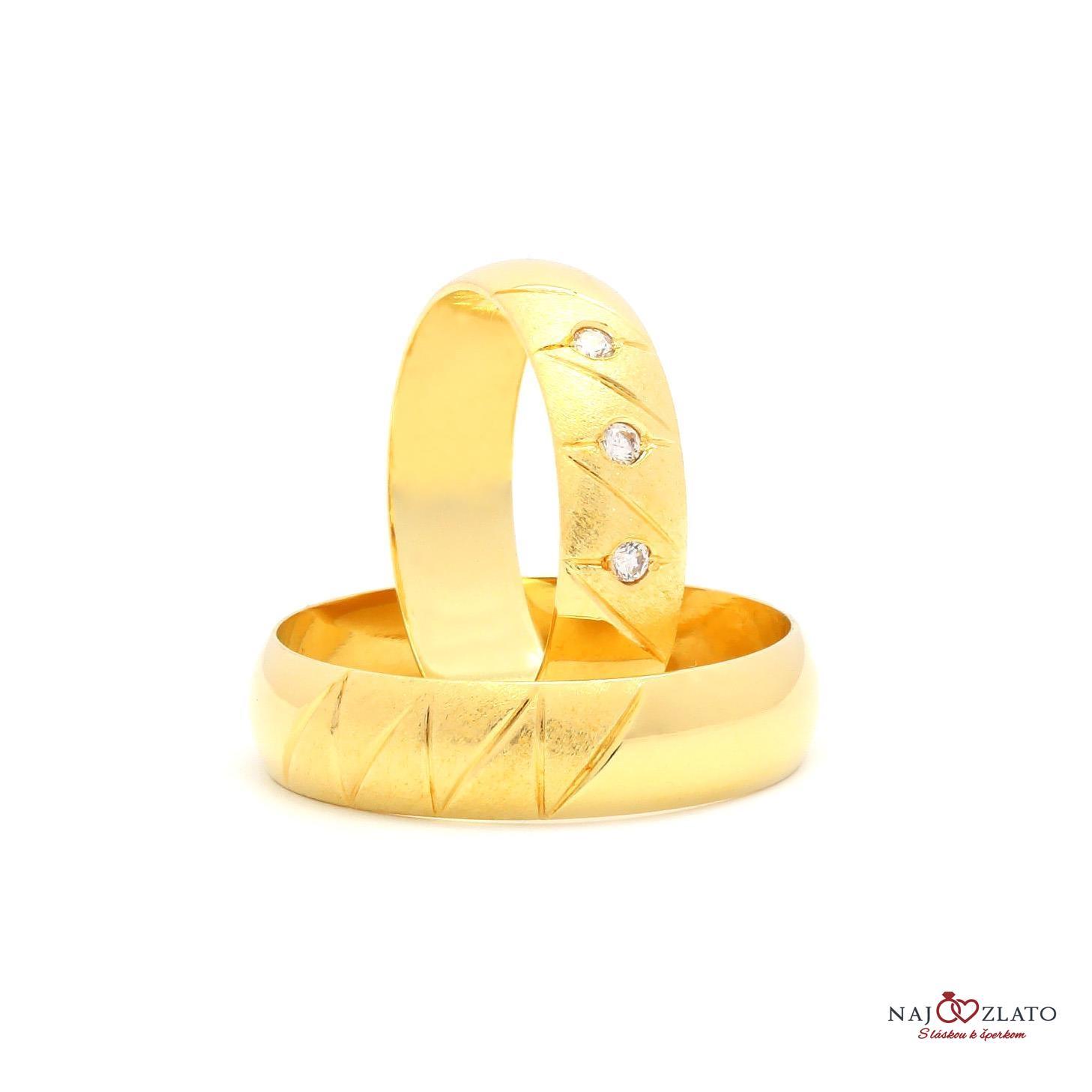 cee34aaaa svadobné obrúčky briallen zo žltého zlata svadobné obrúčky briallen zo  žltého zlata 1 ...
