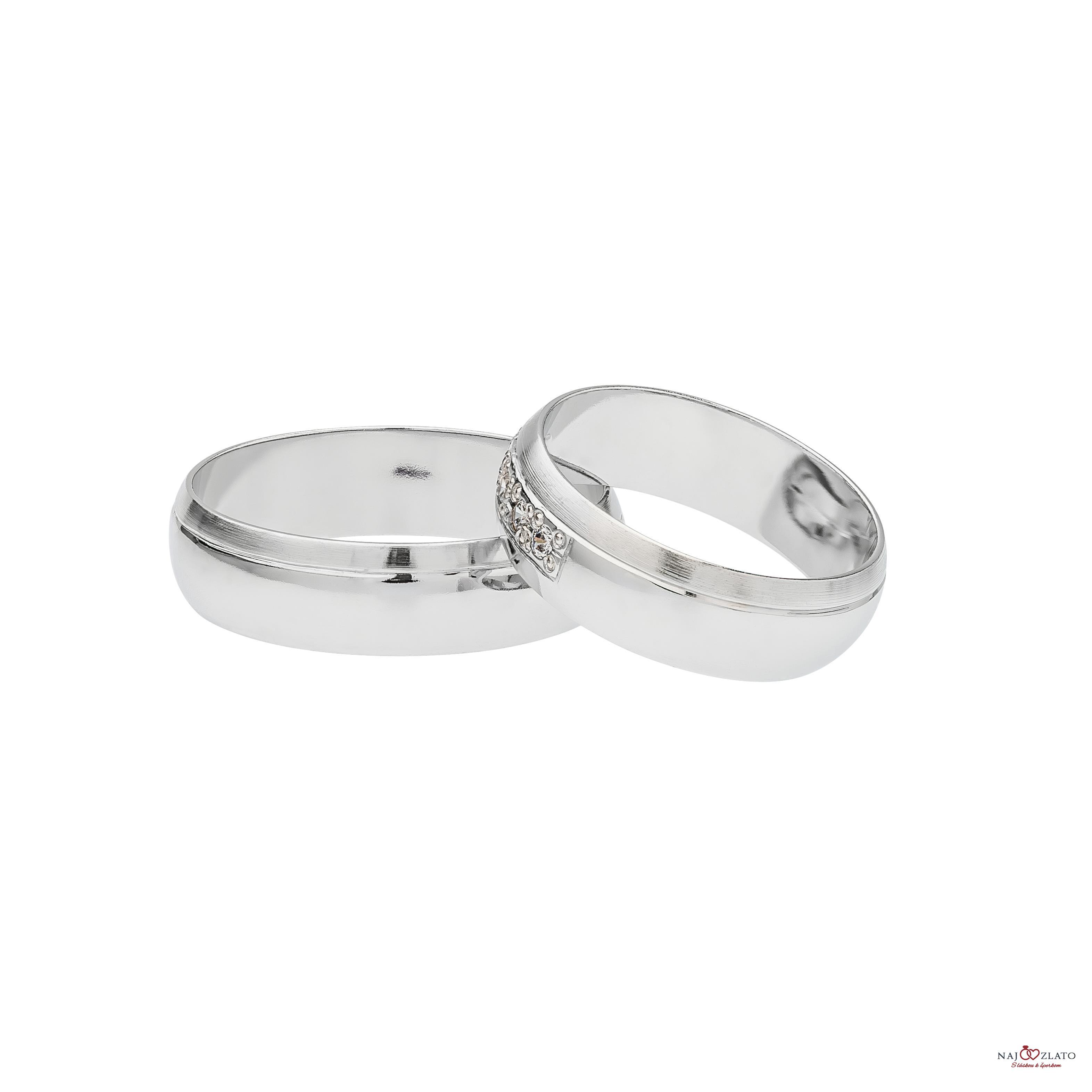 ... svadobné obrúčky doradus z bieleho zlata 2 f035a4c816b