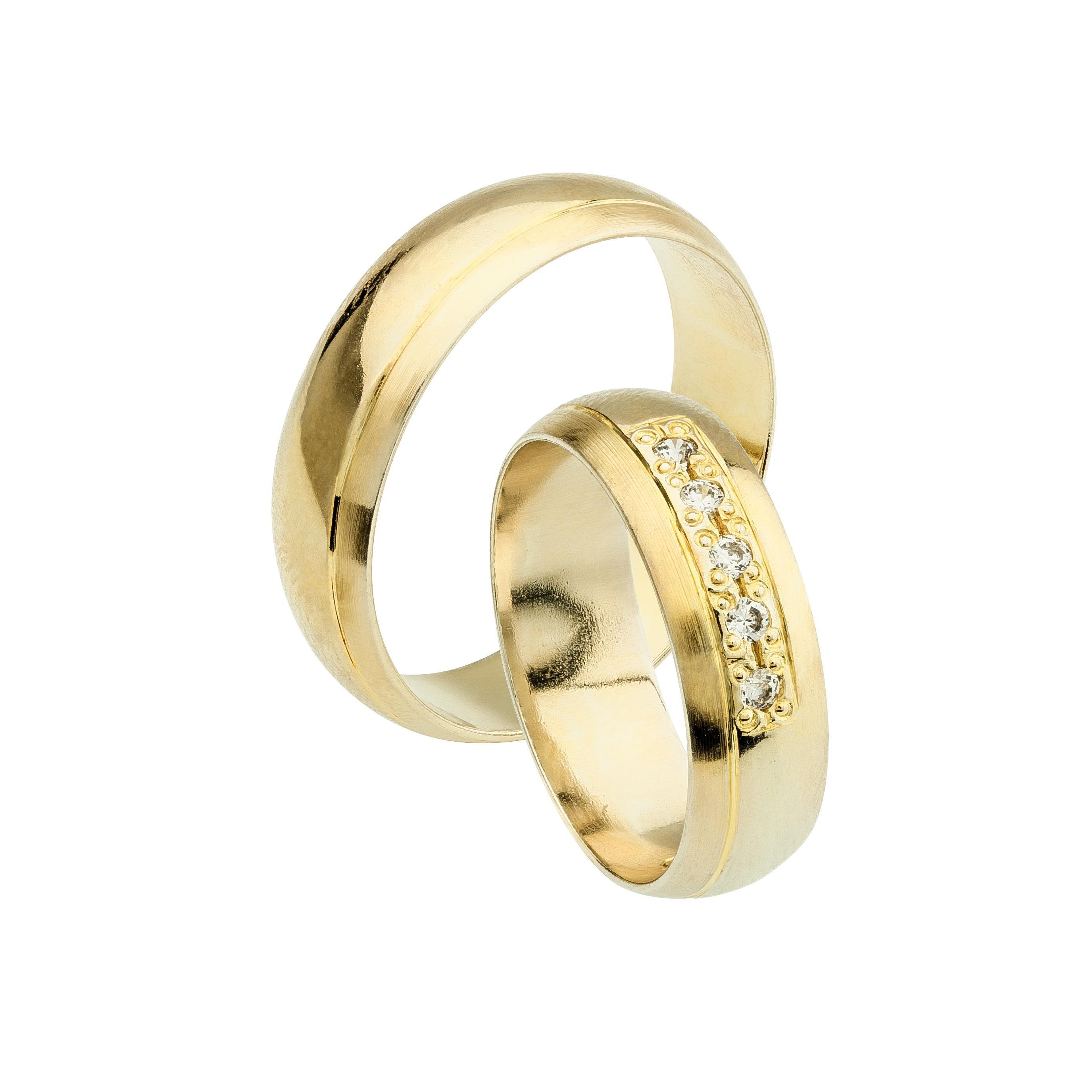 Svadobné obrúčky DORADUS zo žltého zlata