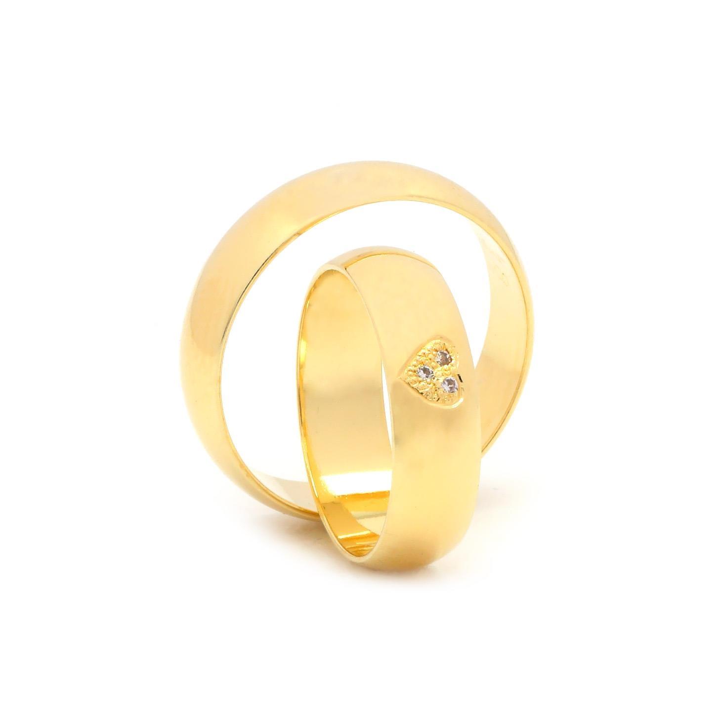 Svadobné obrúčky FLORENTINO zo žltého zlata