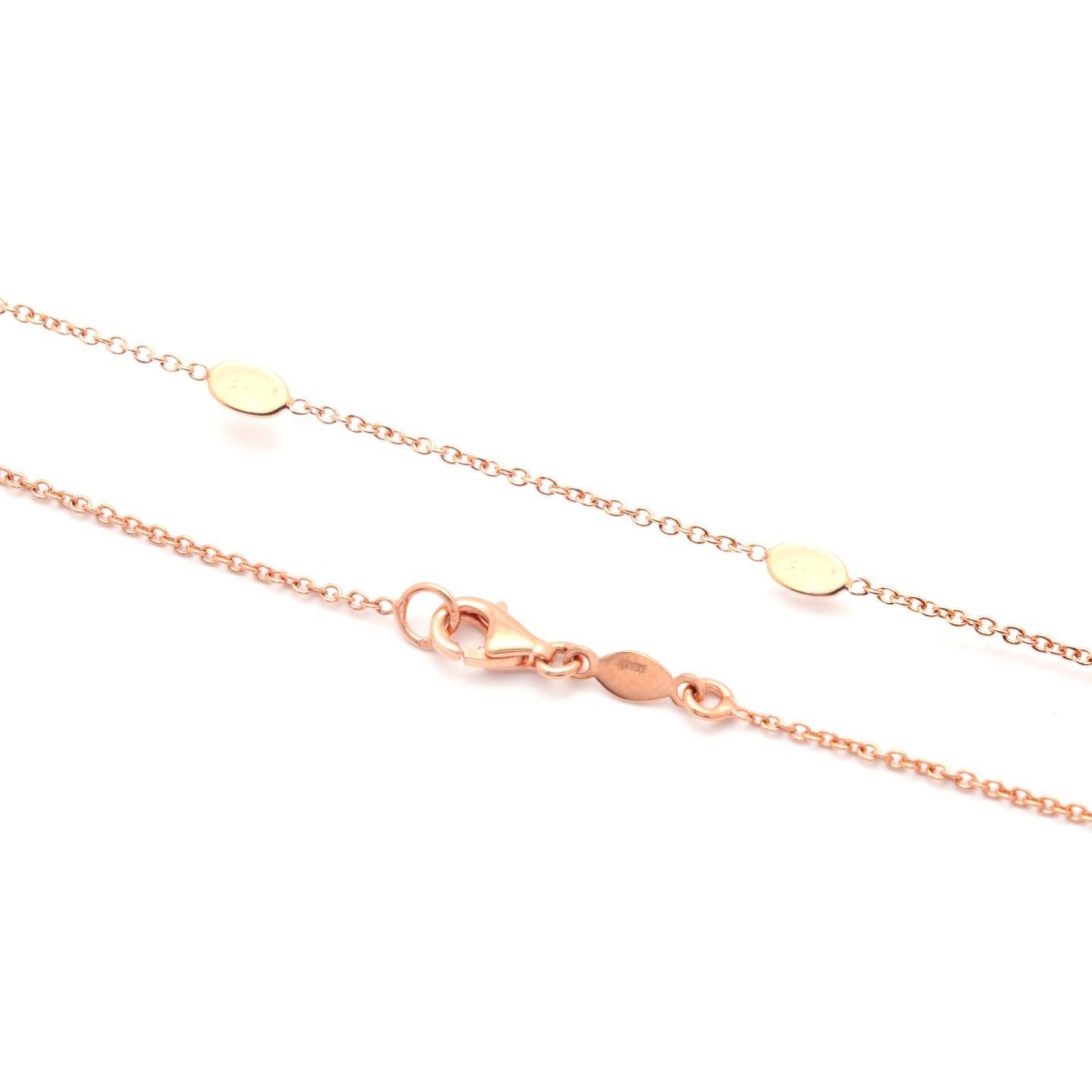 Zlatá retiazka RIONA pink