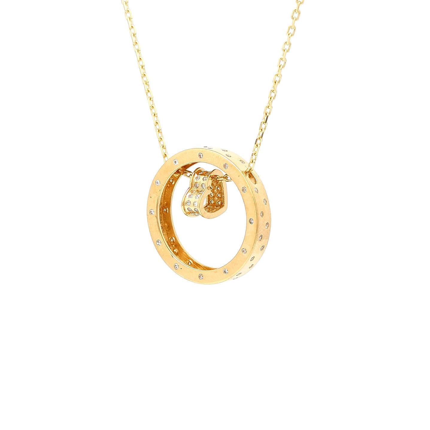 Zlatá retiazka SIMIN s príveskom 31cd827bace