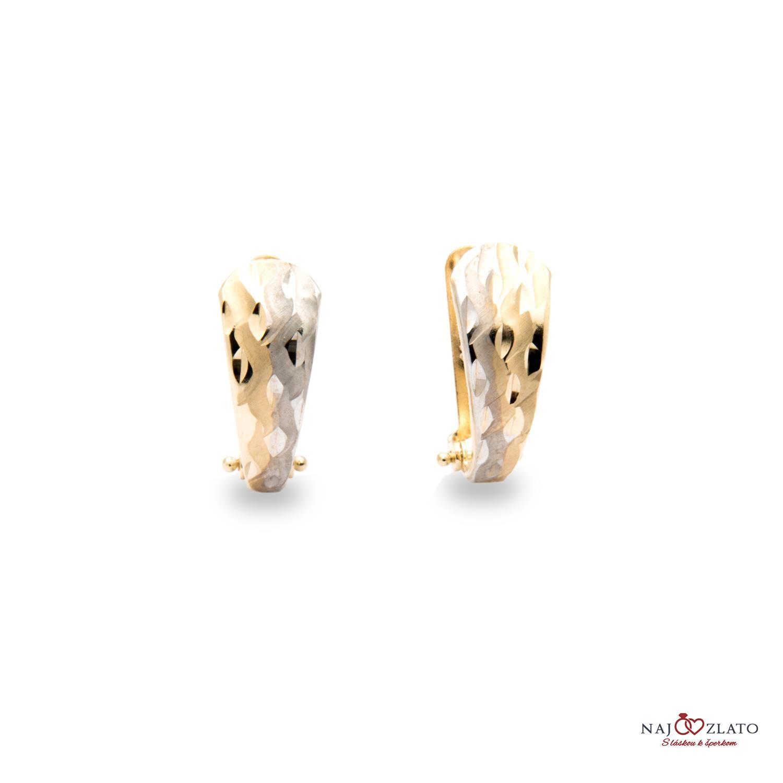d22813513 zlaté dámske náušnice adalhaid zlaté dámske náušnice adalhaid 1 ...