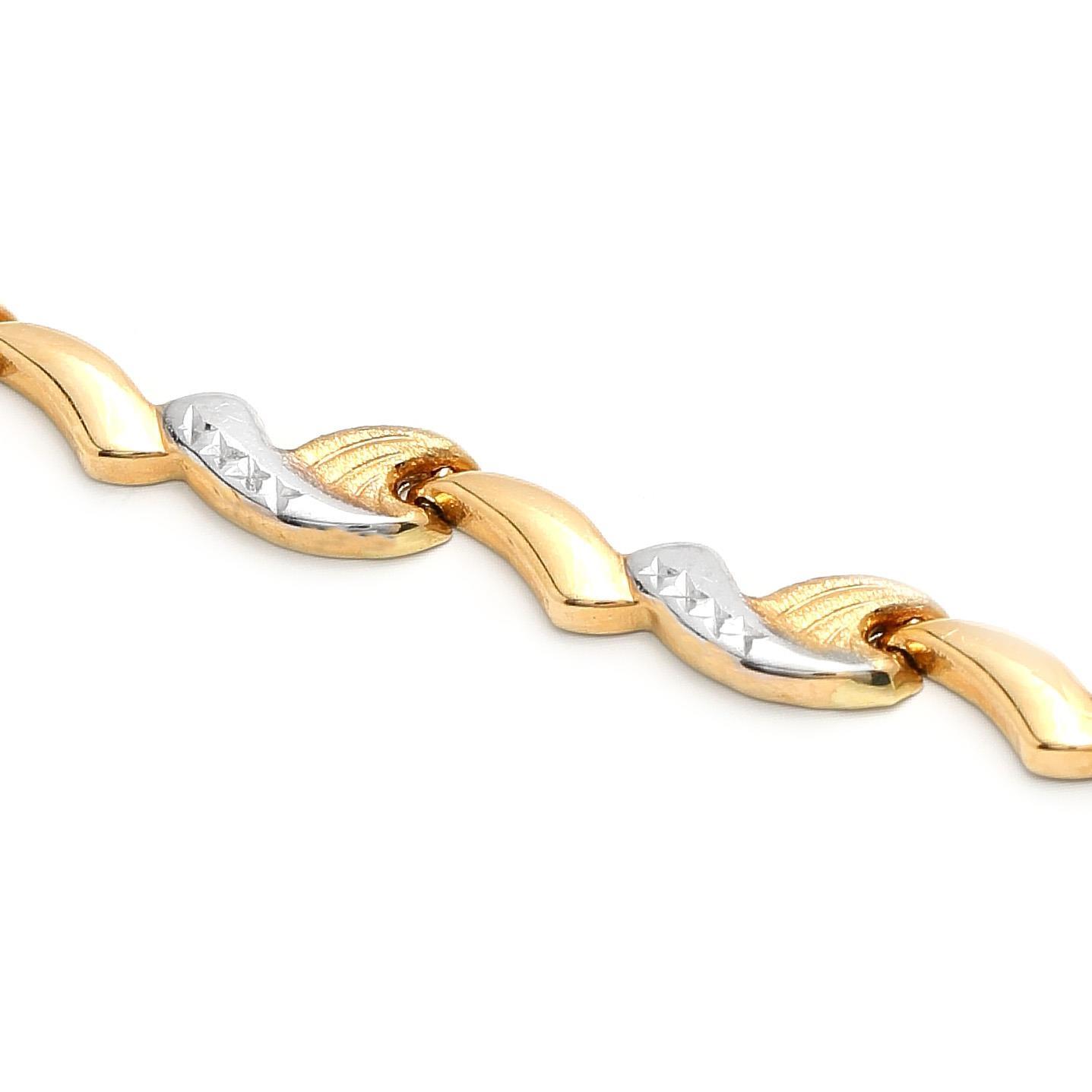 ... zlatý dámsky náramok albertina 3 1b127673c91