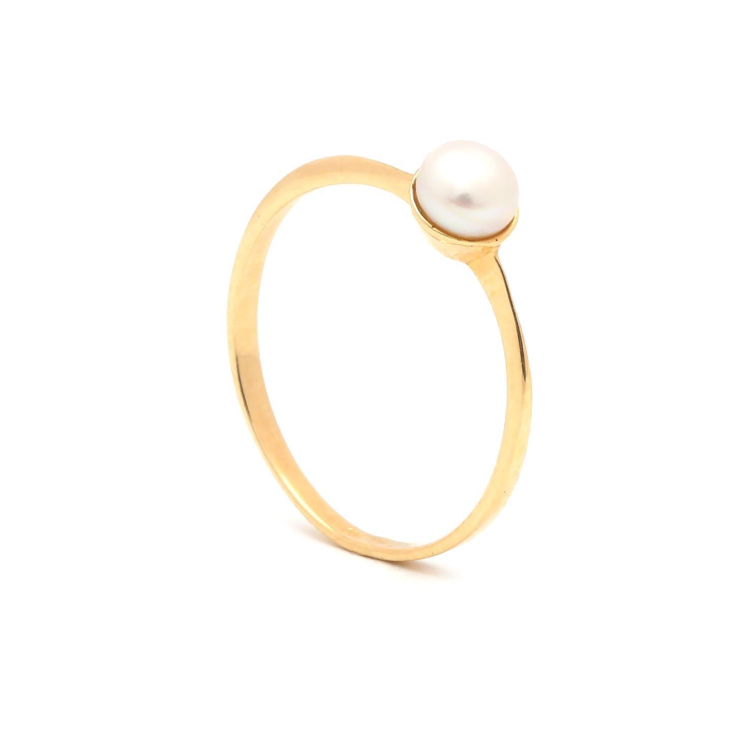 Zlatý dámsky prsteň AGDA