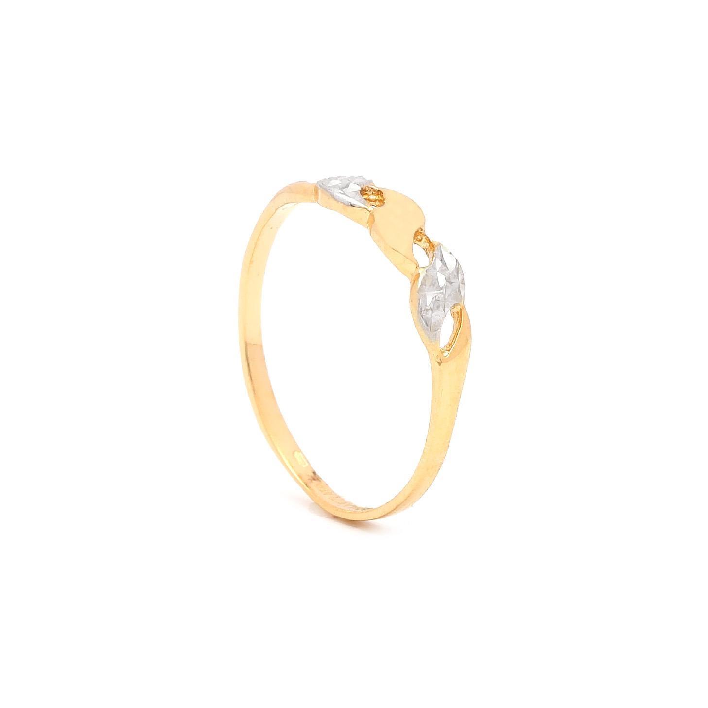 Zlatý dámsky prsteň AUBERONA