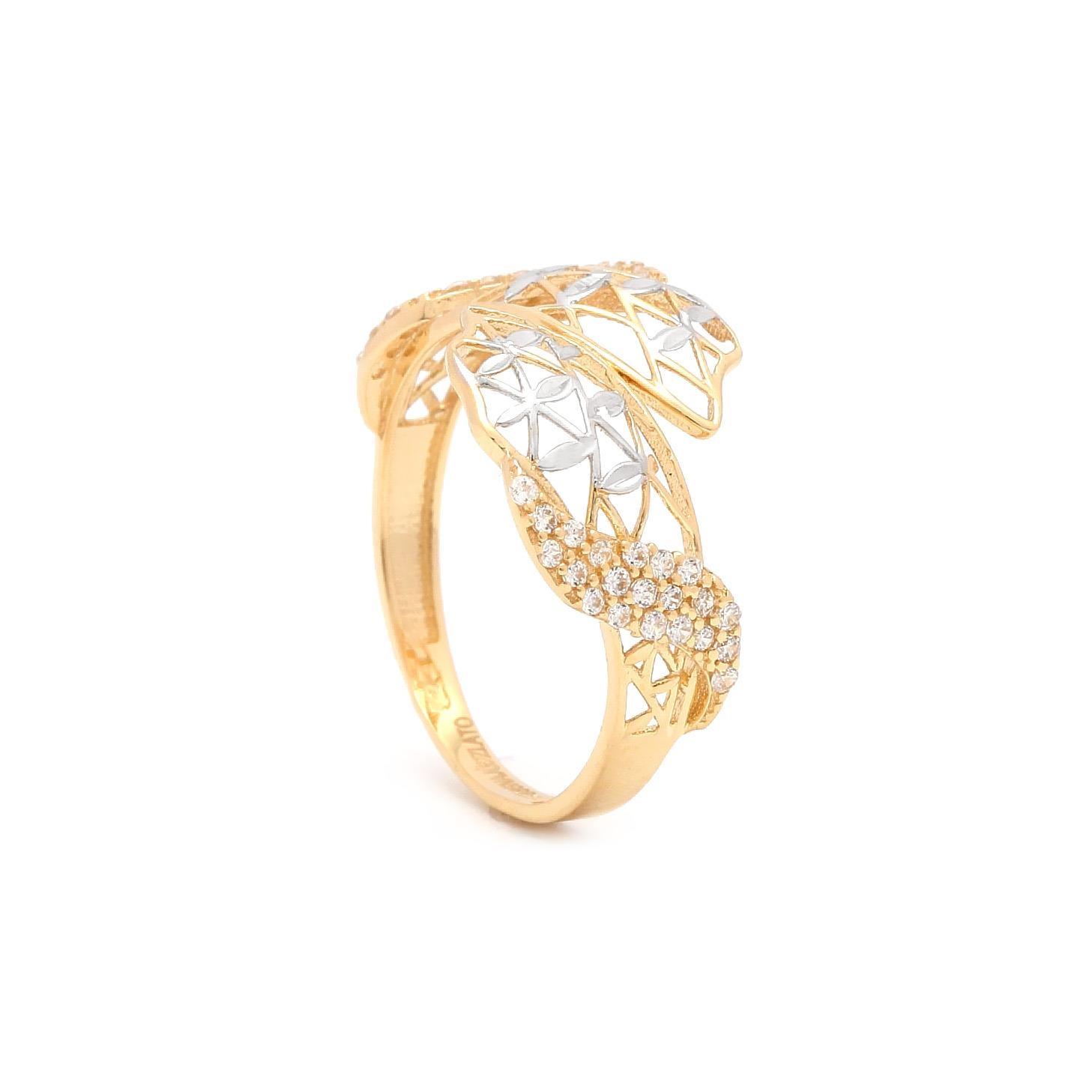 e734d5e71 Zlatý dámsky prsteň CAMRYN