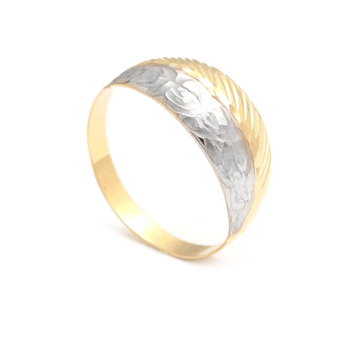 edfd5b132 Zlaty prsten damsky kombinovane zlato   Stojizato.sme.sk