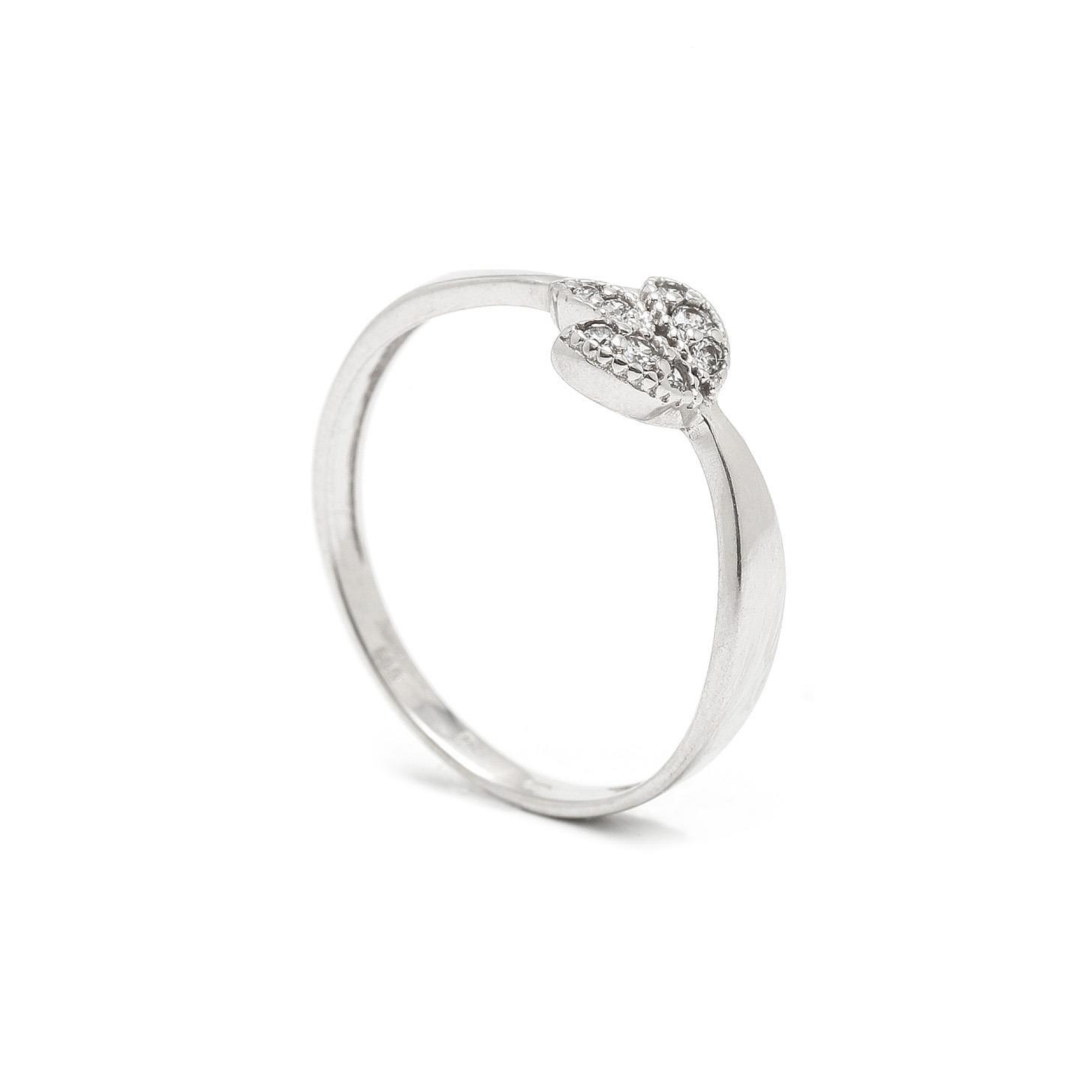 Zlatý dámsky prsteň MOHANA